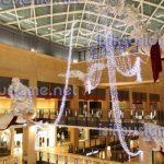 alışveriş merkezi ışıklı motifler