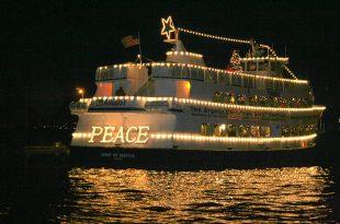 Gemi ışık süsleme