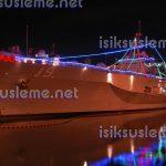 yılbaşı gemi süsleme